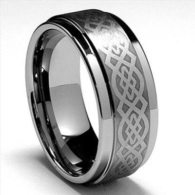 9mm-Mens-font-b-Tungsten-b-font-Carbide-font-b-Celtic-b-font-Wedding-Band-font